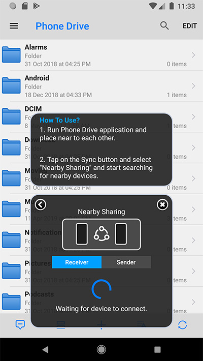 Phone Drive | Mobile File Sharing App